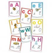 Alfabetul limbii române – Set planșe (KP-020) - 20x30