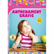 Antrenament grafic nivel I (4-5 ani). Caiet de activitate independenta
