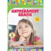 Antrenament grafic nivel II (5-6 ani) Caiet de activitate independenta