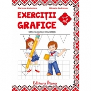 Caiet de exercitii grafice 4-5 ani, Mariana Andreianu, Mihaela Andreianu, Doina Marin