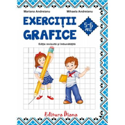 Caiet de exercitii grafice 5-6 ani, Mariana Andreianu