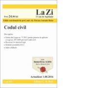 Codul civil. Cod 614. (Flavius Antoniu Baias) Editie actualizata 1. 08. 2016
