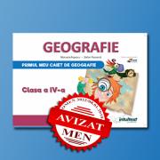 Caietul elevului pentru Geografie - Clasa a IV-a - Stefan Pacearca, Manuela Popescu
