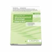 Culegere de matematica pentru clasa a IX-a, profil M-tehnologic. Functia de gradul I, functia de gradul II, trigonometrie (Semestrul II)