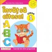 Invat sa citesc! Clasa I. Caiet de lucru. Varianta - ed. ART/EDP (Pitila, Mihailescu) - Cristina Martin, Elena Delia Chira