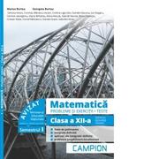 Matematica. Probleme si exercitii. Teste. Clasa a XII-a. Semestrul I. Servicii, resurse, tehnic - Marius Burtea, Georgeta Burtea