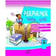 Performer. Teste grila, clasa a IV-a - Marinela Chiriac