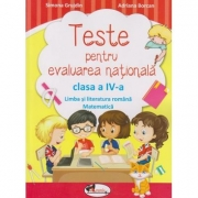 Limba romana si matematica - Teste pentru evaluarea nationala, clasa a IV-a