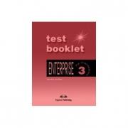 Enterprise 3, Pre-Intermediate, Test Booklet (Curs de limba engleza pentru clasa VII-a )