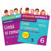 Evaluare nationala Limba si comunicare Limba romana si Limba engleza Ghid de pregatire. Clasa a VI-a gratuit caiet de evaluare