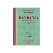 Matematica (M1)- Manual pentru clasa a XI-a (Mircea Ganga) (4 Ore)