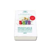 Matematica pentru evaluarea nationala 2015-Teme, probleme si teste de verificare (Clubul matematicienilor de Marius Perianu)
