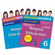 Evaluare naționala Matematica si stiinte ale naturii. Ghid de pregatire pentru Clasa a VI-a