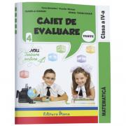 Caiet de evaluare - matematica teste clasa a IV a