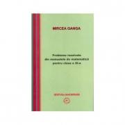 Matematica, Culegere de probleme rezolvate din Manualul pentru clasa XI-a (Mircea Ganga )
