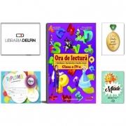 Pachet DZC: Ora de lectura pentru clasa a IV-a. Texte literare, fise de lectura, exercitii, jocuri. Editura Joy, Miade (Contribuie la cresterea fluentei in citire) Diploma si Medalie.