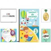 Pachet DZC: Lecturi de vacanta clasa 3 - Editura Elicart, Miade (Contribuie la cresterea fluentei in citire) Diploma si Medalie.