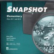 Snapshot Elementary ( Class CD 1+2 Audio )
