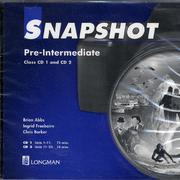 Snapshot Pre-Intermediate Class CD 1+2 Audio ( Brian Abbs )