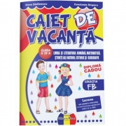 CAIET DE VACANTA - clasa a IV-a - FB + DIPLOMA CADOU