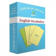 English Vocabulary. Carti de joc educative