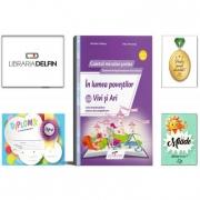 Pachet DZC: In lumea povestilor cu Vivi si Ari clasa pregatitoarea, Editura - Cd Press, Miade (Contribuie la cresterea fluentei in citire) Diploma si Medalie.