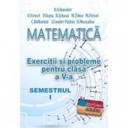 Matematica, exercitii si probleme pentru clasa a V-a, semestrul I - Delia Schneider
