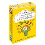 52 jetoane pentru a deveni bun la matematica - Stephanie Boudaille-Lorin