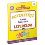 Activitati pentru invatarea literelor. 3-4 ani