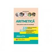 Aritmetica. 220 de probleme rezolvate + 1130 de probleme semnificative pentru olimpiade, concursuri si centre de excelenta – clasa a V-a - Editia a X-a - Artur Balauca