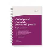 Codul penal. Codul de procedura penala. Legile de executare. Actualizat 6 septembrie 2019. Spiralat