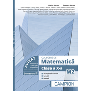 Culegere de matematica M2. Clasa a X-a, multimi de numere, functii, ecuatii (semestrul I)