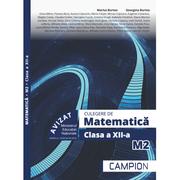 Culegere de matematica M2. Clasa a XII-a