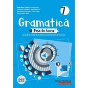 Gramatica. Fise de lucru (pe lectii si unitati de invatare cu itemi si teste de evaluare). Clasa a VII-a - Ardelean Luminita