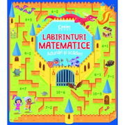 Labirinturi matematice. Adunari si scaderi - Gabriele Tafuni