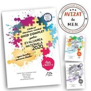 Pachet carti Evaluarea Nationala Limba si literatura romana - Ghid complet: repere teoretice, 60 de teste, brosura rezolvari complete