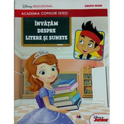 Academia copiiilor isteti. Invatam despre litere si sunete. Disney educational. Grupa mare