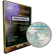 Ghid pregatire-evaluare Istoria romanilor EN. 100 teste rezolvate. CD