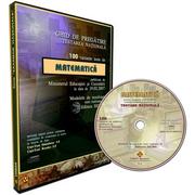 Ghid pregatire-evaluare Matematica EN. 100 teste rezolvate. CD