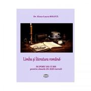 Limba si literatura romana. Suport de curs pentru clasele IX-XII seral - Elena - Laura Bolota