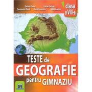 Teste de geografie pentru gimnaziu. Clasa a VIII-a - Constantin Dinca