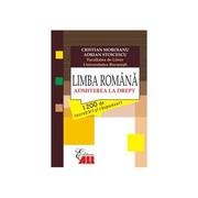 Limba romana - Admiterea la drept