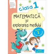Matematica si explorarea mediului. Clasa I. Partea I (E2). Caiet de lucru - Arina Damian, Camelia Stavre