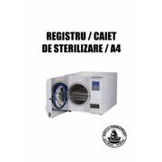 Registru/caiet sterilizare, format A4