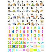 Set planse litere si cifre. Clasa pregatitoare