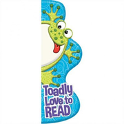 Toadly Love to READ Shaped Bookmarks