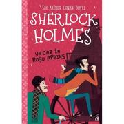 Sherlock Holmes. Un caz in rosu aprins - Stephanie Baudet