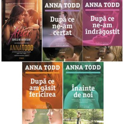 Pachet fictiune, Anna Todd, 5 carti, Ed. Trei