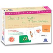 Invat sa citesc cu Montessori - Anne Ghesquiere, Charlotte Poussin, Marie Ollier