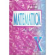 Manual pentru clasa a X-a. Matematica Trunchi comun - Marius Burtea